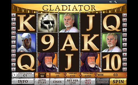 Gladiator Slots Review