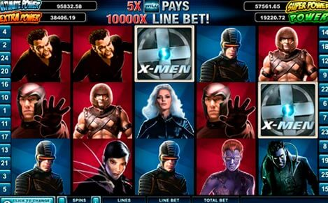 X Men Slot Machine Review